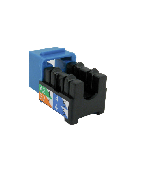50 Pack V-Max Series CAT5E RJ45 Keystone Jack Gray Color -